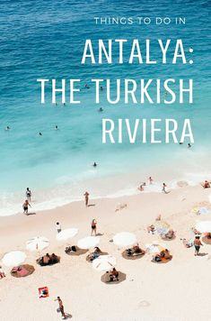 Antalya was once viewed as just a gateway to get to the #Turkish Riviera, but has since morphed into a flourishing international sea resort. Check out this travel guide to learn more! #Turkey #Travel