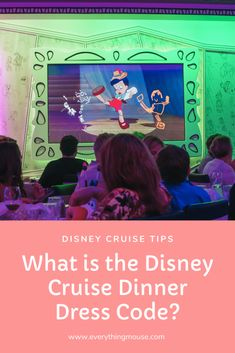 Disney Cruise Tips - What is the Dress Code? If you need to know all about the dress code on a Disney cruise you will get all the information that you need here. Written by a Disney Cruise expert.