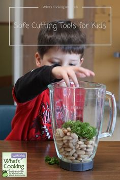 When teaching safe cutting skills to kids, there are many options for what tools you can use. Here are my favorites.  -What's Cooking with Kids