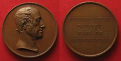 1829 England - Medaillen FRANCIS HENRY EGERTON EARL of BRIDGEWATER 1829 bronze medal by DONADIO XF# 83031 EF Coin Collecting, England, Bronze, Personalized Items, English, British