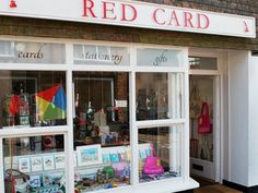 Red Card is a unique emporium selling greeting cards for all occasions, wrapping paper, notelets, notebooks, stationery and a wide range of gifts for all ages. We offer old-fashioned personalised service and are happy to help with card and gift selection.