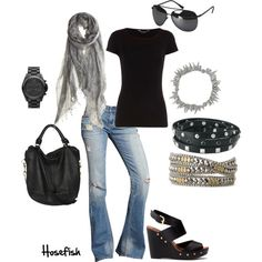 """Ready to rock it"" by hosefish on Polyvore"