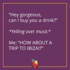 Buche jetzt deinen Traumurlaub auf Ibiza! Unsere Blogger suchen täglich die besten Deals für dich im Internet. #Ibiza #Urlaub #Insel #Flirten