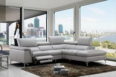 Tips That Help You Get The Best Leather Sofa Deal. Leather sofas and leather couch sets are available in a diversity of colors and styles. A leather couch is the ideal way to improve a space's design and th Leather Reclining Sectional, 2 Piece Sectional Sofa, Sofa Couch, Chaise Sofa, Leather Recliner, Sofa Set, Futon Chair, Futon Mattress, Interiors