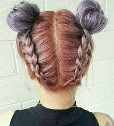 33 Cool Pastel Hair Color Ideas You'll Love - Page 14 of 34 - Top Trendy Hairstyles Short Hair Cuts, Short Hair Styles, Natural Hair Styles, Pretty Hairstyles, Braided Hairstyles, Latest Hairstyles, Coloured Hair, Dye My Hair, Rainbow Hair