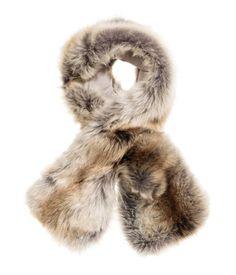 Faux Fur Collar | Beige | Ladies | H&M US