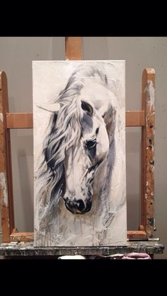 Stallion to draw Horse Drawings, Art Drawings, Arte Equina, Horse Artwork, Equine Art, Animal Paintings, Painting Inspiration, Painting & Drawing, Art Projects
