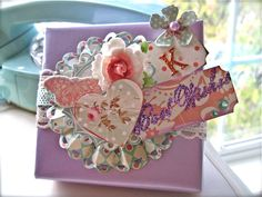 Pretty up your gifts with ScrapBook Leftovers at my Blog, Boomdeeadda