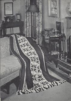 💮 Crochê Folhas Flores Cássico Ponto Cruz Afegãos Padrão itens decorativos Criações -  /  💮 Crochet Leaves Flowers  Afghan Vintage Default - Cross Stitch Decorative Items Creations -
