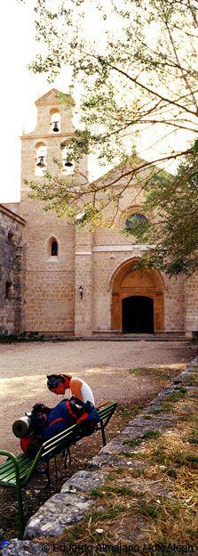 San Juan de Ortega church, Camino de Santiago de Compostela, Navarra, SPAIN