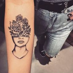 best half sleeve tattoos ever Head Tattoos, Mini Tattoos, Flower Tattoos, Body Art Tattoos, Tatoos, Tattoos For Women Half Sleeve, Tattoos For Women Small, Small Tattoos, Tattoos For Guys