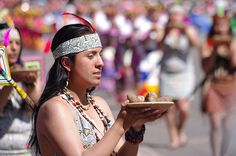 Festival in Peru: fill your mind with colours