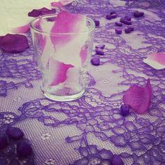 Pizzo viola wedding purple violet