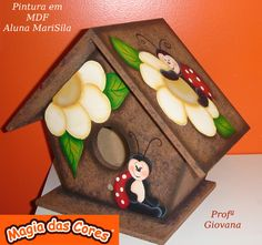 So cute for a bird house