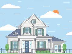 Dribbble - House by FireArt Studio
