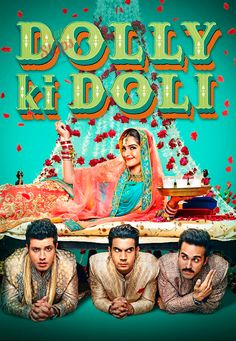 Dolly Ki Doli Movie Poster, Sonam Kapoor