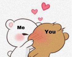 Cute Love Memes, Cute Love Cartoons, Cute Quotes, Calin Gif, Snapchat Stickers, Funny Reaction Pictures, Cute Messages, Cute Texts, Cute Doodles