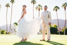 { Rick + Laura } La Quinta California Wedding.