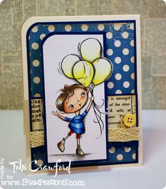 For the Stampendous! January Challenge: Kiddos!