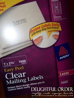 print mailing labels from excel