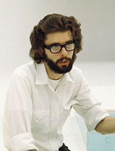 George Lucas on the set of THX 1138
