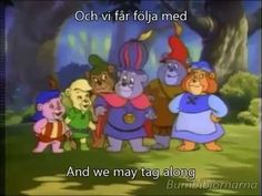 Swedish version of the intro. :) -------------------------- Disclaimer: I own nothing. No profit. This is pu. Gummi Bears, Story Tale, Walt Disney Pictures, Songs, Disney Characters, Song Books