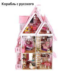 MINI simulazione IN LEGNO GARDEN COTTAGE PER 1:12 Casa delle Bambole Accessorio