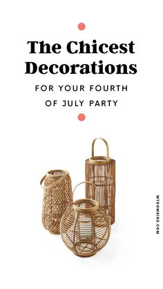 How to plan the best Fourth of July party Pool Party Decorations, Patriotic Decorations, Smores Dessert, Summer Design, Party Entertainment, Summer Cocktails, Design Products, Home Decor Trends, Summer Activities