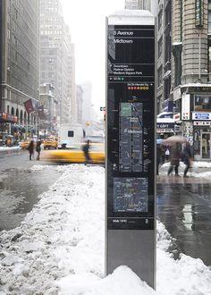 WalkNYC—neighborhood and city map kiosk 03