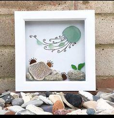 Sea Crafts, Sea Glass Crafts, Sea Glass Art, Seashell Crafts, Stone Crafts, Rock Crafts, Sea Art, Pebble Art, Stone Art
