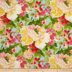 Waverly Blossom Boutique Twill Aurora