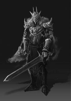 Fantasy Armor, Dark Fantasy Art, Medieval Fantasy, Fantasy World, Cool Monsters, Horror Monsters, Dnd Characters, Fantasy Characters, Fantasy Character Design