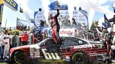Chris Buescher, Ford find path to NASCAR Xfinity win goes through teammate - http://www.motoreffects.com/chris-buescher-ford-find-path-to-nascar-xfinity-win-goes-through-teammate/