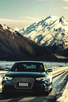 "italian-luxury: ""Audi RS5 journey throught the mountains by LightFarm Studios """
