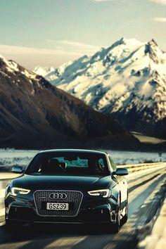 "italian-luxury: ""Audi RS5 journey throught the mountains by LightFarm Studios """