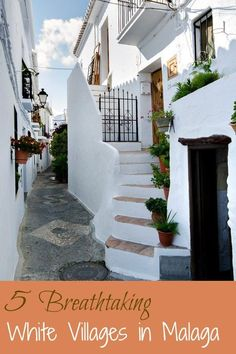 Breathtaking white villages to visit in Malaga