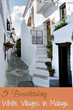 Breathtaking white villages in Malaga