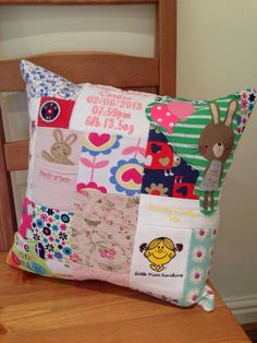Baby grow keepsake cushion by Littleelfstitches1 on Etsy https://www.etsy.com/listing/204189191/baby-grow-keepsake-cushion