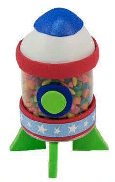 Regalo para niños / Fiestas infantiles / Dulceros / Dulces / cohete / niño / Día del niño