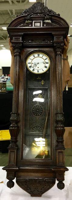 3-Weight 30-Day Vienna Regulator at antique-clock.com
