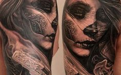 Day of the Dead Tattoos a 2 - Ink Done Right Tattoo