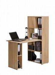 modern computer desk ideas, interior design, diy, white, small space, home office