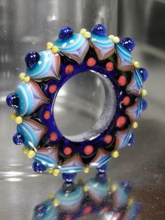 Lapis Mandala Wheel by RASPBERRYRINGS