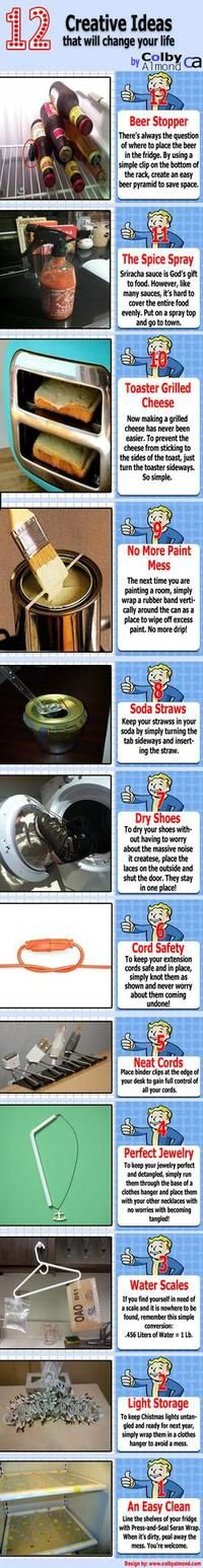 Very neat DIY ideas!