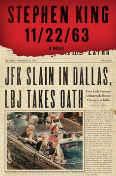 Awesome book!  11/22/63. . . Reading now. This one is hard to put down. Love the story. One of Stephen King's better novels.