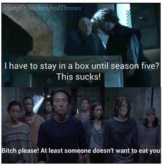 Game of Thrones / the walking dead funny memes