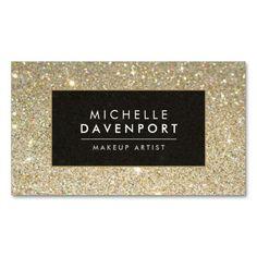 100 best makeup artist business cards images on pinterest makeup classic gold glitter makeup artist business card colourmoves