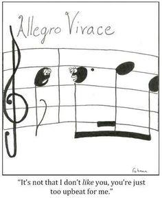 Music Cartoons - Funny Cartoons about Music Music Jokes, Music Humor, Funny Music, Piano Music, Art Music, Band Jokes, Music Stuff, Music Things, Music Classroom