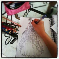 Wedding sketch by febryani lyanto