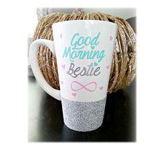"Best Friend Gift Ideas For Teens | ""Good Morning Bestie""Best Friend Mug"